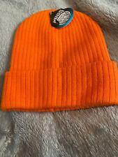 Pugs - Cable Knit Beanie - Orange