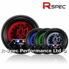 Prosport 60mm Premium Evo Peak / Adustable Warning LCD Water Temperature Gauge