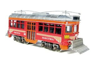 """N Scale Pacific Electric """"The Hollywood Car"""" Kit by Showcase Miniatures (5010)"""