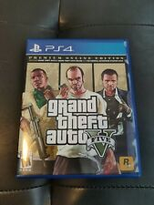 Grand Theft Auto V Premium Online Edition (PlayStation 4)