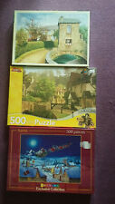 Selection of  3 jigsaw puzzles