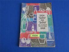 Von Jahr zu Jahr Das Jahrbuch 1964 Verlag für die Frau DDR