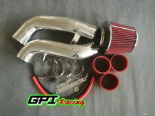 RED COLD AIR INTAKE KIT+FILTER 2003-2007 for Hyundai Tiburon GT SE 2.7L V6
