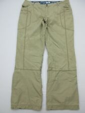 Columbia Pa955 Size 16 Women's Beige Lined 100% Cotton Pants