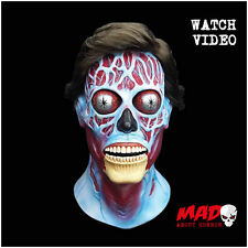 Official They Live Alien Latex Mask - Halloween Horror Film Movie Costume SCARY