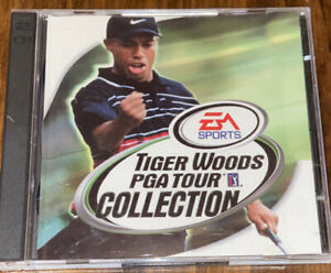 Tiger Woods PGA Tour Collection (EA Sports 1999) PC CD-ROM- 15 Courses 2 Discs