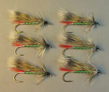 Grizzly King Streamer Trout Flies - 6 Fly MULTI-PACK - Sizes 4, 6 and 8