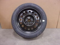 2013-2019 Ford Escape 17x4 Steel Wheel T165/70R17 Compact Spare Tire OEM