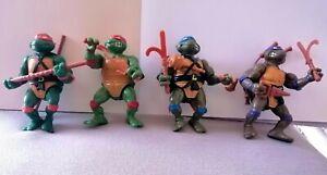 Lot 4 tortues ninja original vintage 1988 teenage mutant ninja turtles tmnt