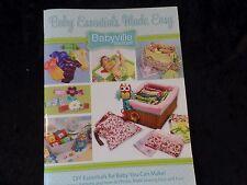 Babyville Boutique DIY Cloth Diaper Pattern Book