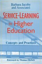 Service-Learning in Higher Education: Concepts and Practices Jacoby NEW