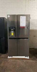 LG GSL960PZJV American-Style Smart Fridge Freezer Steel water+ice dispanser new