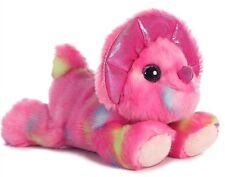 7 Inch Candyapple Pink Triceratops Dinosaur Plush Stuffed Animal by Aurora