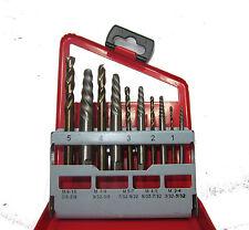 Rdgtools 10pc Tornillo Extractor conjunto Cobalto Fresas M3-M15 Taladro Tornillos