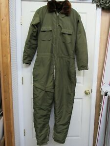 WW2 US Navy Flight Suit USN Aviator Cold Weather Flyers Coveralls AL-1 WN-1