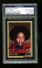 Billy Sims Signed 1992 Heisman Collection Autographed Oklahoma PSA/DNA 83891163