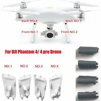 Landing Gear Antenna Cover Repair Parts For DJI Phantom 4 Drone White / Black
