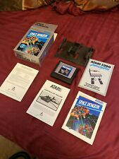 Atari 5200 Game Cartridge & Box - Space Dungeon w/Controller Holder