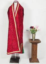 Turkmen antique velvet Chapan coat Chirpy antik Afghan samt Mantel khalat N18/3