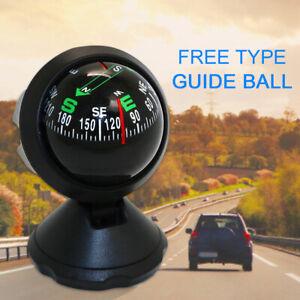 Multifunktionaler Universal Auto Kompass Mini Ball Dash Armaturenbrett Kompass