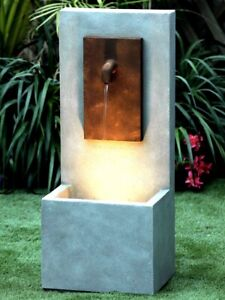 Solitary Tap Water Feature With Lights and Pump
