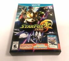 Star Fox Zero + Star Fox Guard (Wii U, 2016)  *BRAND NEW AND SEALED*