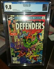 The Defenders 86 CGC 9.8 White Pages *Only 1 Of 10 On Census *None Higher * Key