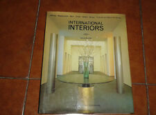 KNOBEL INTERNATIONAL INTERIORS BARS RESTAURANTS OFFICES THAMES AND HUDSON 1988