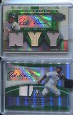 2007 ROBINSON CANO Triple Threads 3x Game-Used YANKEES Autograph Signature #/50