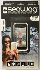 Seawag Waterproof Phone Case,Black, Fits All Phones, IPX8