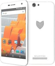 WileyFox Spark Cyanogen (Dual) Sim Free Unlocked Smartphone White-white