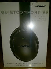 Bose QuietComfort 35 Wireless Headphones with noise cancellation - BLACK-Sealed