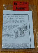 "American Model Builders HO #337 ATSF ""Stand Alone"" Bay (Laser Cut Wood Kit)"
