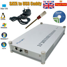 "3.5"" SATA TO USB 2.0 External HDD Aluminium Enclosure Caddy XP Vista MAC Linux."
