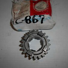 GENUINE HONDA PARTS 4th GEAR COUNTERSHAFT 21TEETH CR250R 1986/1987 23461-KS7-000