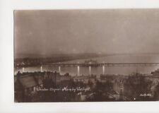 Weston Super Mare By Night [P466] 1916 RP Postcard 155b
