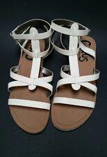Sam Edelman Circus Shoes Sandals Ankle Straps White Selma Strappy Womens Size 11