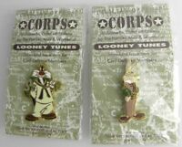 1994 Warner Bros. Corps Looney Tunes Bugs Bunny & Slyvester the Cat Vintage lot