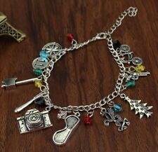 Stranger Things TV Series 10 Themed Charms Charm Bracelet