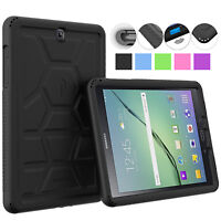 For Samsung Galaxy Tab A 9.7 [Poetic] Rugged Schockproof Silicone Case Cover