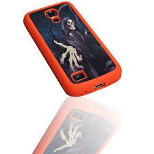 Design No.4 Silikon TPU Alu Cover Handy Case für Samsung i9190 Galaxy S4 Mini