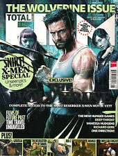 NEW! TOTAL FILM 209 August 2013 The WOLVERINE X-MEN Exclusive Godzilla Riddick
