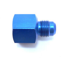 PRE-68620 -8 AN Female To 6 AN Male Flare Reducer Fitting Aluminum Anodized Blue