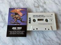 Judas Priest Rocka Rolla CASSETTE Tape 1974 RCA AYK1-5041 Rob Halford RARE! OOP!