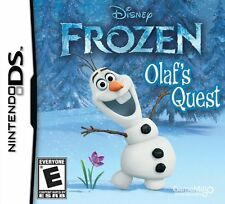 DISNEY FROZEN OLAFS QUEST DS! DSI, LITE, XL 3DS! OLAF, ESLA, FAMILY GAME NIGHT!