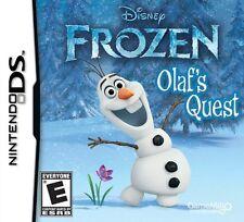 DISNEY FROZEN OLAFS QUEST DS! DSI, LITE, XL 3DS! OLAF, ESLA, FAMILY GAME NIGHT!
