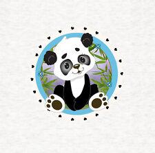 PANDA, Carino Panda per Bambini-Cuscino in Tessuto/Pannello Tappezzeria Craft