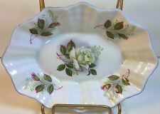 Shelley China Pin /Jelly  Dish in Baileys White Wild Rose on Dainty Shape