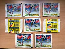 8 sealed Packet Panini USA 1994 World CUP WM WC 94 Bustina Tute