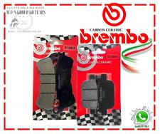 PASTIGLIE FRENO BREMBO HONDA SH 300 FINO 2015 ANTERIORI POSTERIORI 07063 07064
